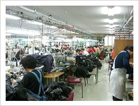 工場内生産ライン
